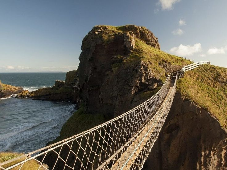 Irlanda del Norte, Carrick-a-Rede rope bridge