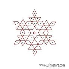 Image result for pulli kolam