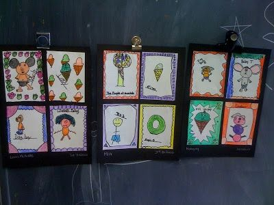 Oodles of Art: Create your own Cartoon Characters, 3rd Grade
