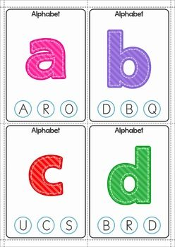 FREE Alphabet Clip It! Cards