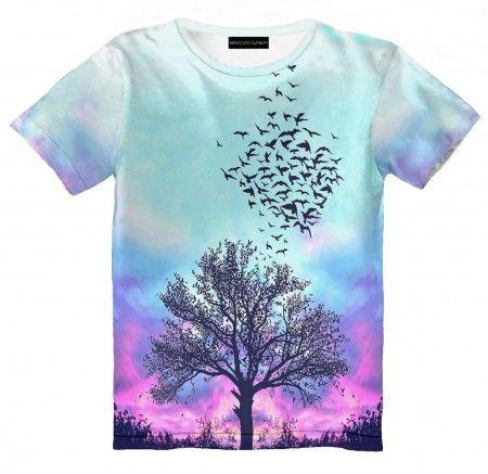 Pastel Tree T-shirt