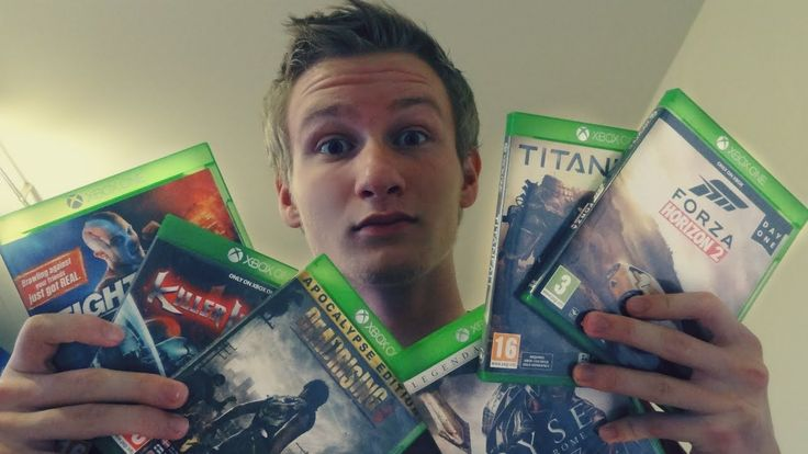 Unboxing 6 new games [XBOX ONE]