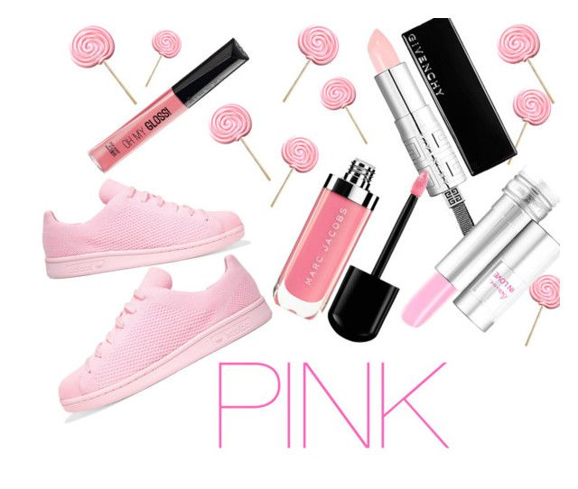 """Pink"" by mysticrosehill on Polyvore featuring adidas Originals"