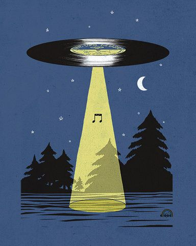 Vinyl UFO