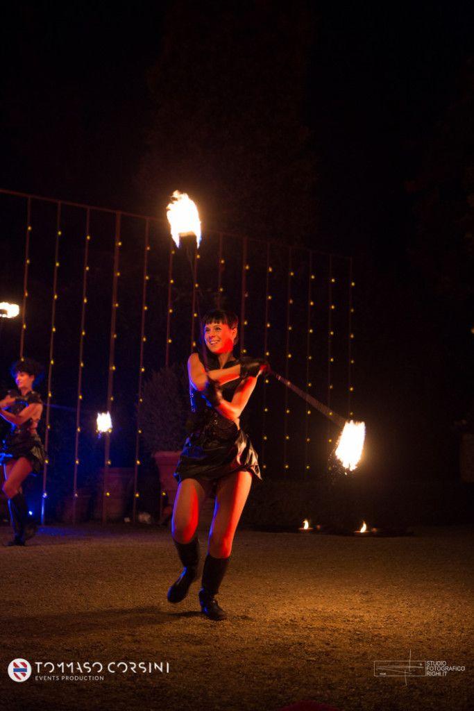 ALMA PROJECT Fireshow @ Giardino Corsini - Entertainment   TCEP
