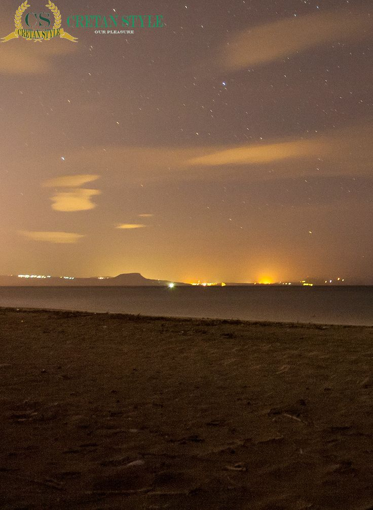 Chania airport from Platanes beach Rethymno..