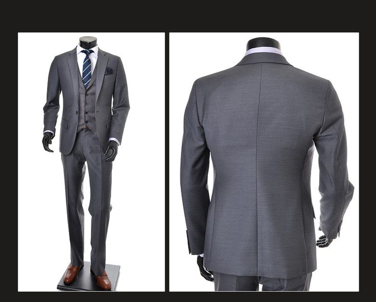 Men S Gray Wedding Suits Lounge Suit Dress Code Mens
