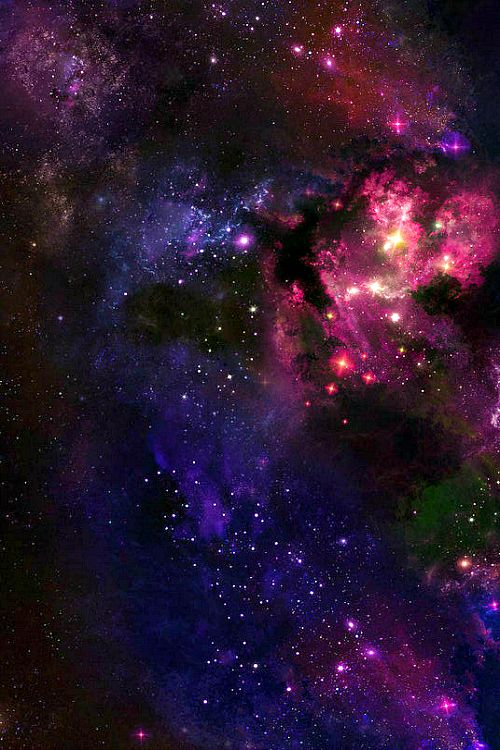 Galaxy 1 (dollzi,tumblr,galaxy,sky,space,universe,purple,pink,star,stars)