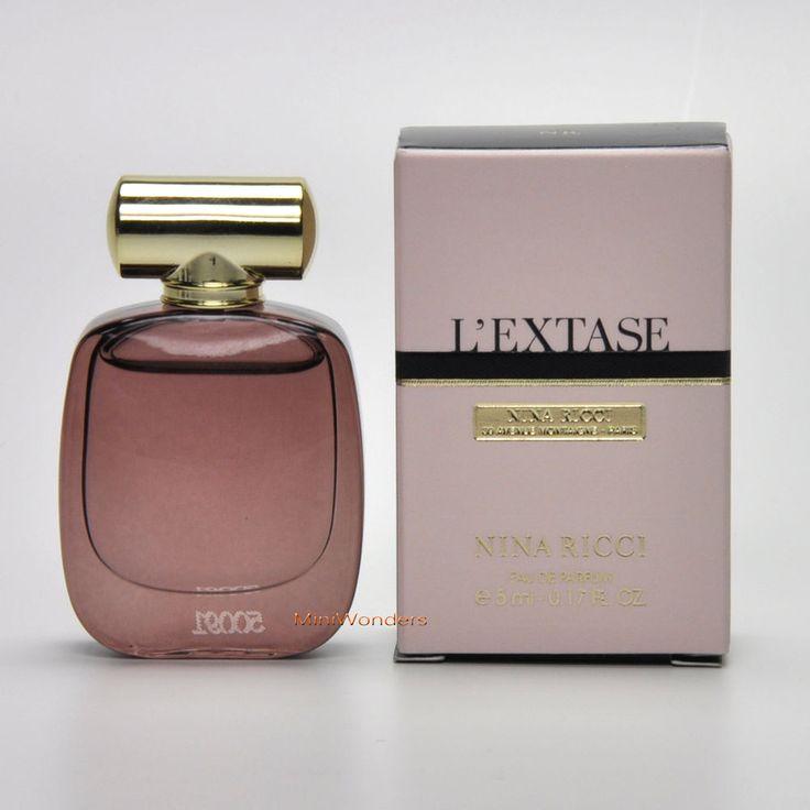 mini perfume nina ricci l 39 extase eau de parfum ml oz. Black Bedroom Furniture Sets. Home Design Ideas