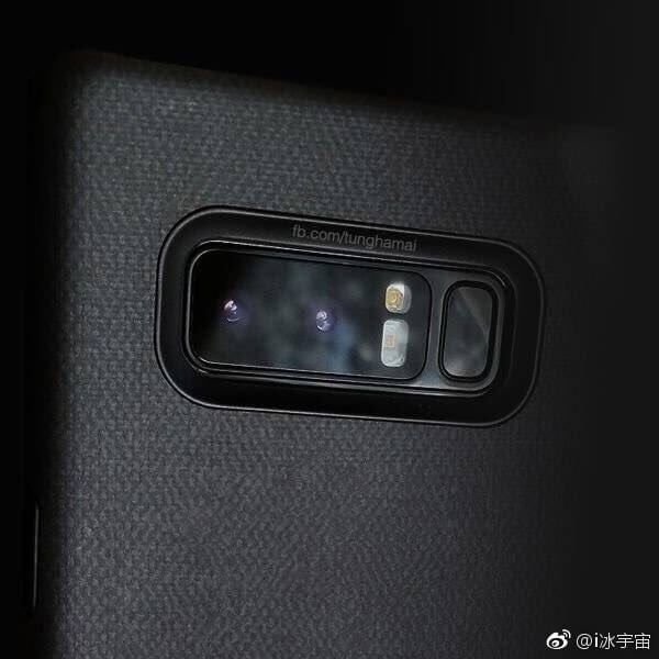 Samsung Galaxy Note 8: Design und Features des Dual-Kamera geleakt