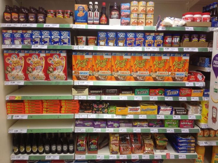 "My friend living in the UK says the local grocery just added an ""American Food"" section with the rest of the ethnic foods. 'Murica"