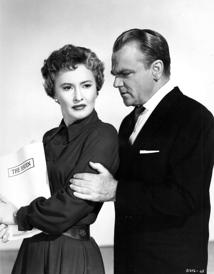 Barbara Stanwyck and James Cagney in These Wilder Years (1936).