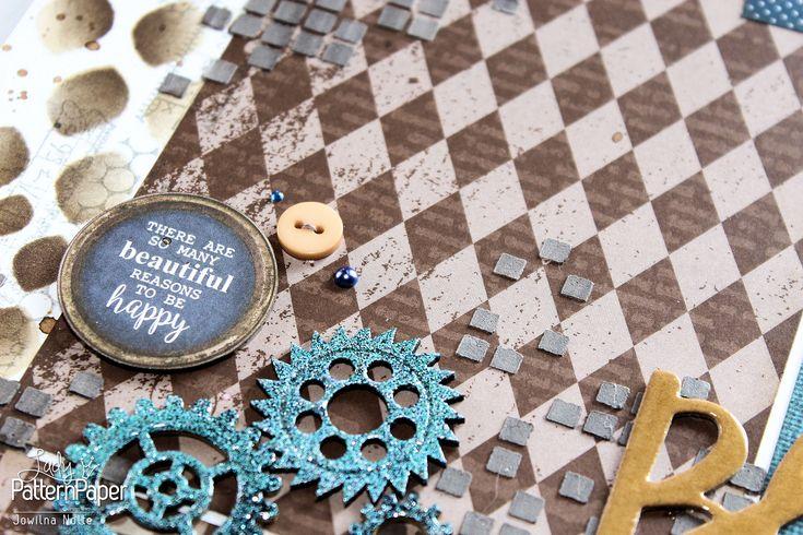 A little bit of Chocolate Chilli magic! ⋆ Lady Pattern Paper