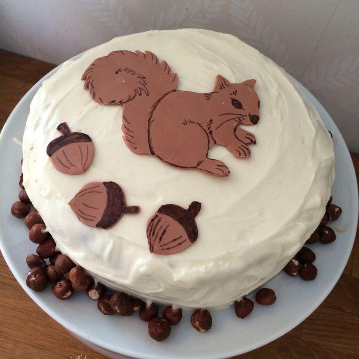Ekornkake ekorn kake squirrel cake