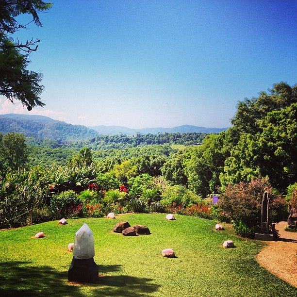 Crystal Castle in Mullumbimby, NSW