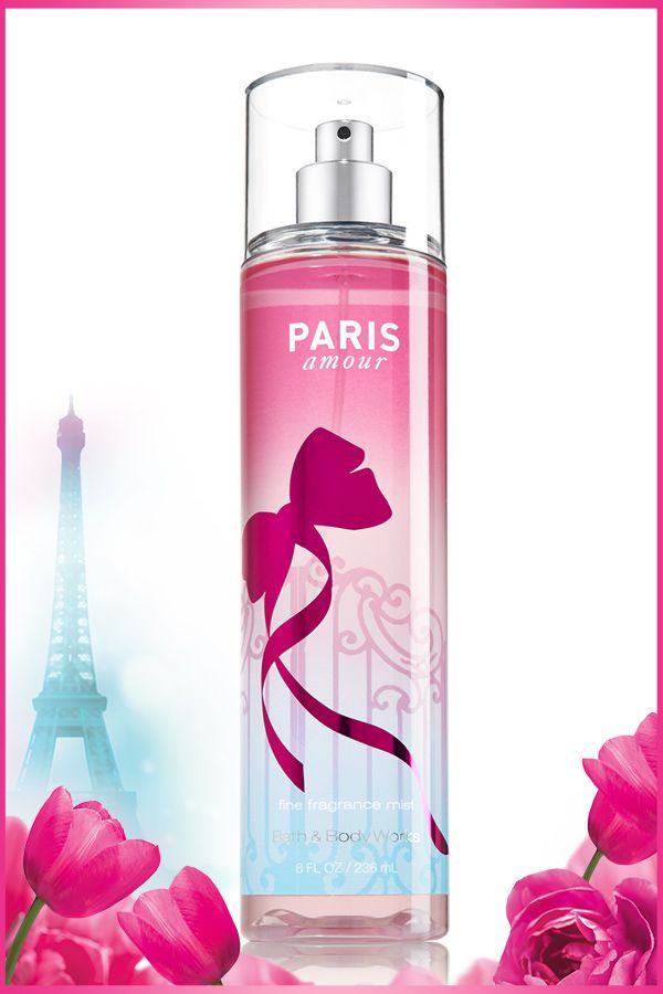 A delicate & refreshing mist of dreamy fragrance! #ParisAmour