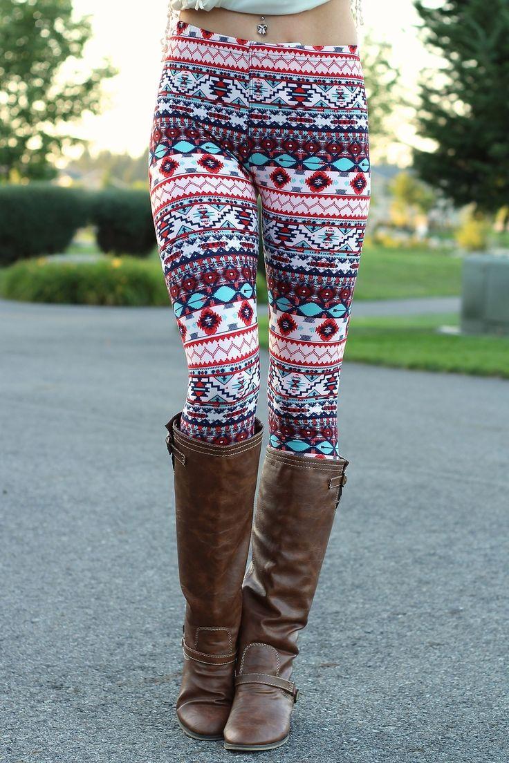 The 25+ best Aztec leggings ideas on Pinterest | Printed leggings Aztec print leggings and ...