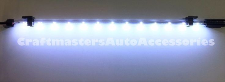 "Truck cap / tonneau cover LEER 20"" LED strip domelight 12V  #136506 RV/Trailer  #LEER"