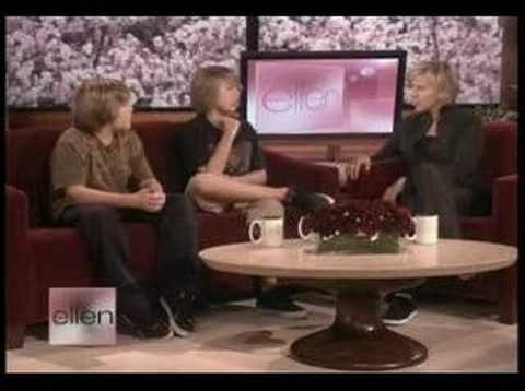Why am I just now seeing this? Dylan and Cole Sprouse on ELLEN