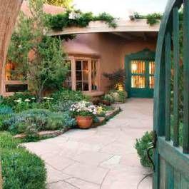 unusual phoenix home and garden. A Santa Fe Landscape is Transformed into a Lush Garden of Eden  Phoenix Home 35 best Southwest Homes images on Pinterest Haciendas Cob houses