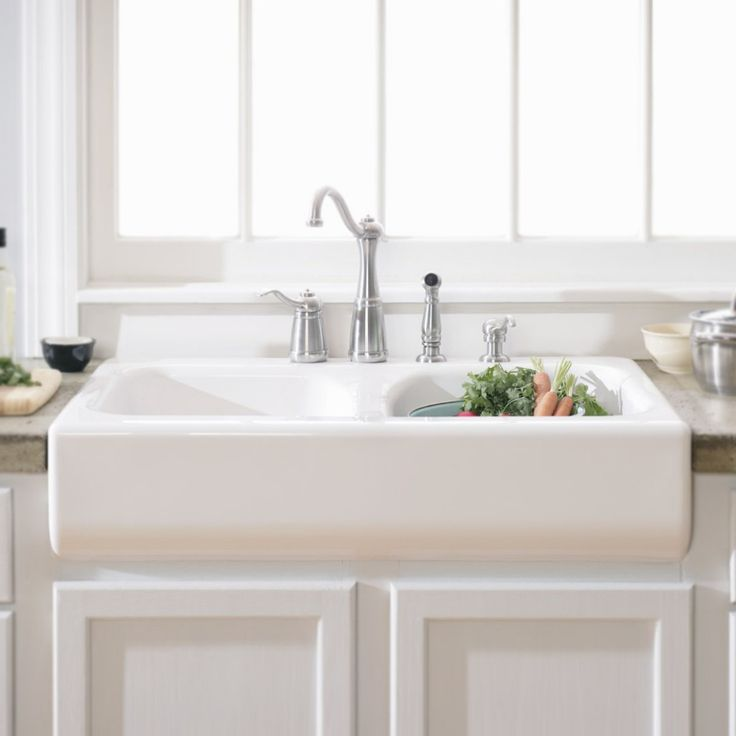 beautiful Double Bowl Ceramic Kitchen Sink #10: Double Ceramic Kitchen Sink Wonderful White Kitchen Design Come With Double  Bowl White Porcelain Undermount Kitchen