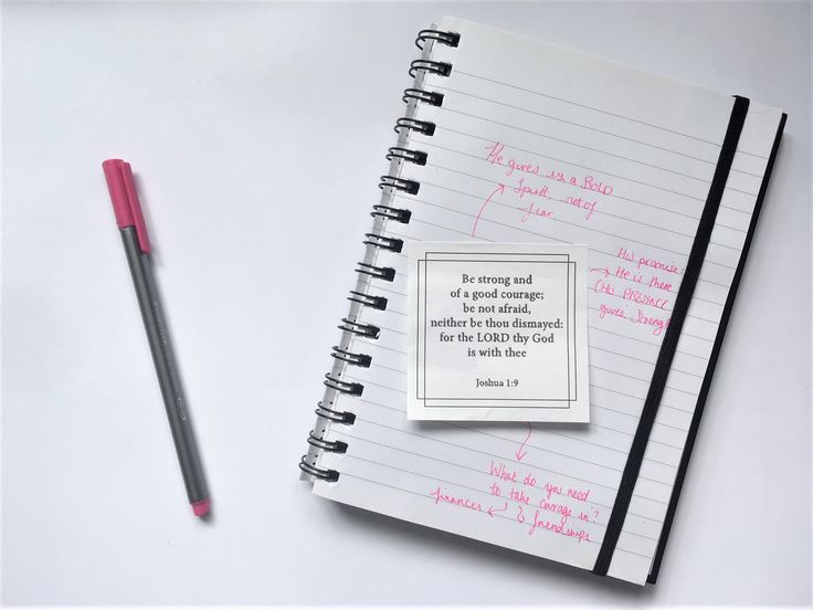 Bible study tips: Experimenting with Vision Words stickers - Ella Scribbles