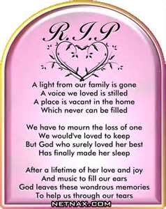 Rest In Peace RIP Graphics  Poems For Mom Or Grandma NetNax
