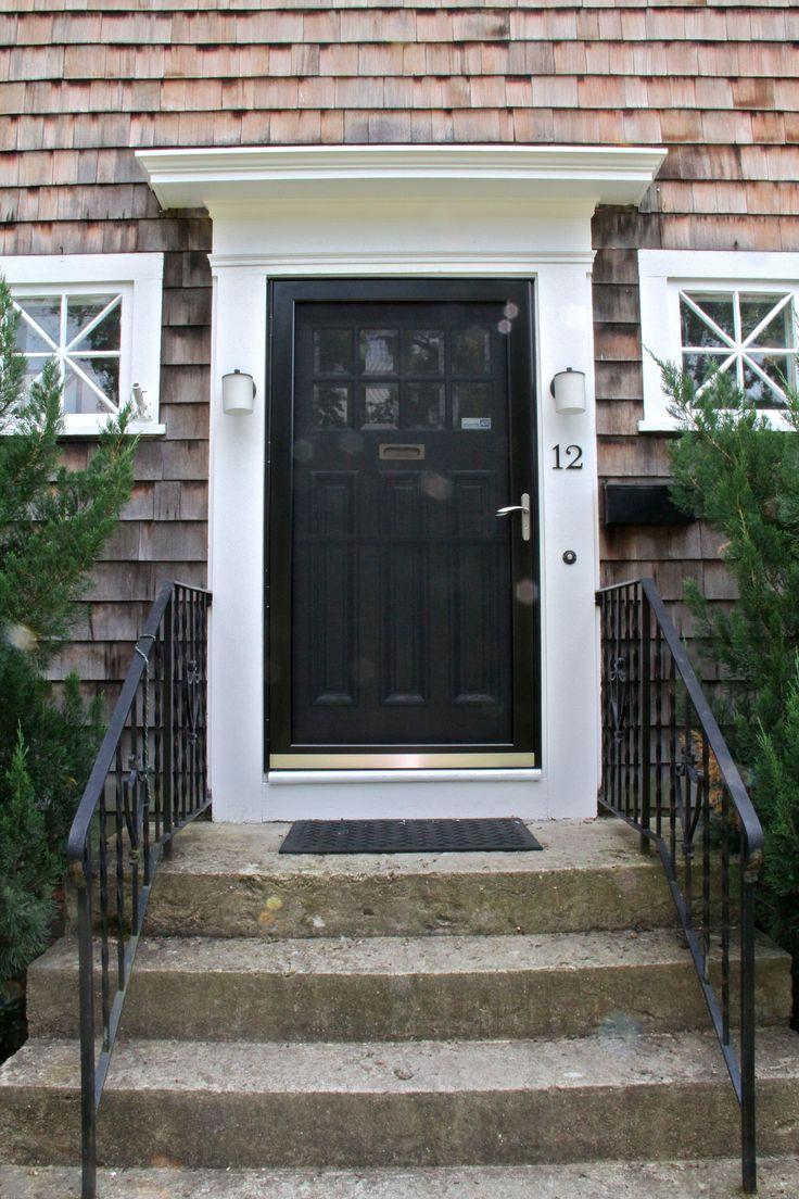 25 best ideas about painted storm door on pinterest for Exterior door with storm door