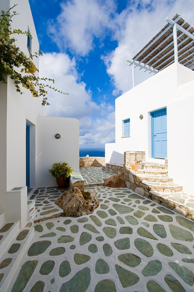 Folegandros Island, Cyclades, Creece