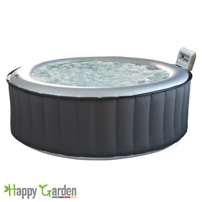SPA COMPLET - KIT SPA Spa gonflable Ø205cm rond - 6 places
