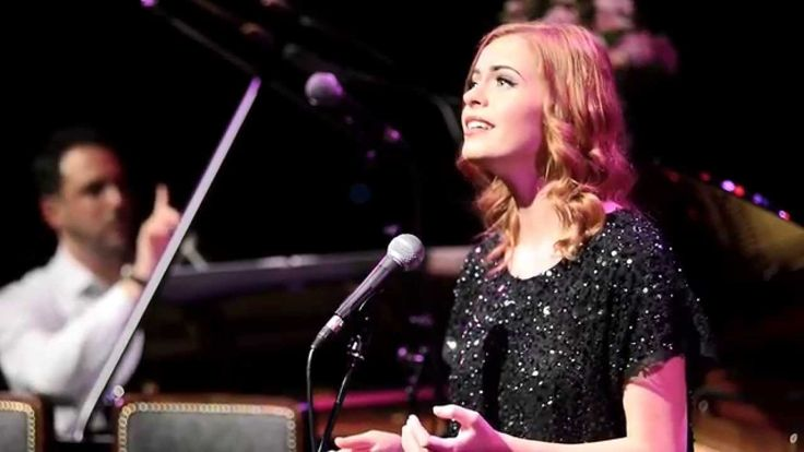 """Sophie Evans sings Scott Alan's """"LOOK (A RAINBOW)"""" at the St. James Thea..."""