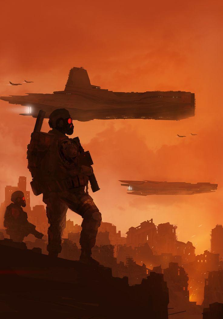 'Colonial Marines' by ~sketchboook