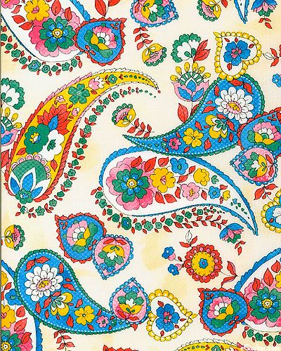 eQuilter Quilting Bee - Paisley Perfection - Cream