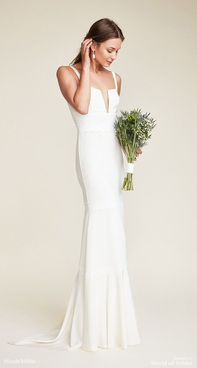 Nicole Miller 2018 Wedding Dresses World Of Bridal Wedding Dress Patterns Wedding Dresses Beach Wedding Dress