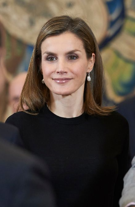 King Felipe and Queen Letizia received in audience a representation of the Spanish Television | 18.11.2016 - click to read more