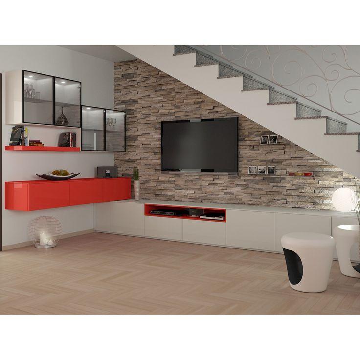 Arredare il sottoscala aperto del soggiorno 17762 arredaclick idee casa pinterest - Arredare sottoscala soggiorno ...