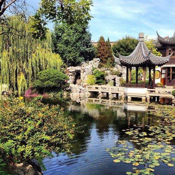 Lan Su Chinese Garden In Portland Or 2020 Oregon Pinterest