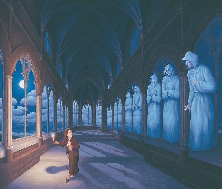 Optical Illusion Paintings by Artist Robert Gonsalves - BOOOOOOOM! - CREATE * INSPIRE * COMMUNITY * ART * DESIGN * MUSIC * FILM * PHOTO * PROJECTS