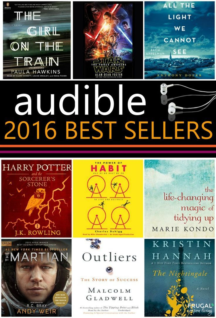 2016 Audible Best Sellers for February - Audio Book Must Reads!