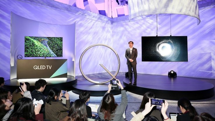 Wow! You've heard of OLED screens, but you've never seen anything like QLED. These brand new TVs from Samsung are going to change everything! I've got photos of this new TV that yo...