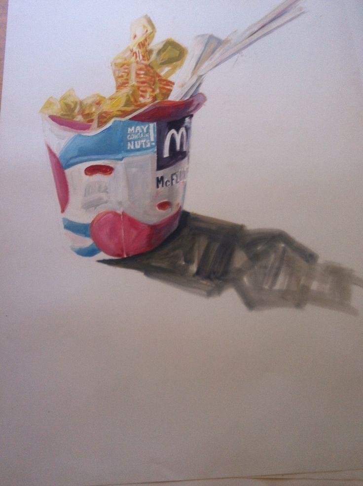 'Mc Donald's trash' by Daniel Butterworth
