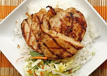 Grilled Lemongrass Chicken (serves 6)