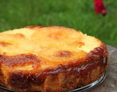 Azorean pineapple cake - this explains why my dad likes pineapple upside down cake so much. He is half Portuguese part of which is Azorean.