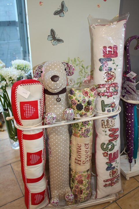 A draught excluder would make a great house-warming gift!