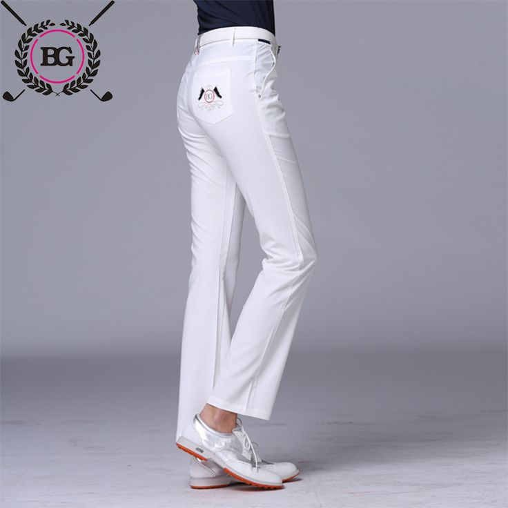 Blktee golf clothes women's trousers women's spring and summer slim elastic pants Women sports pants