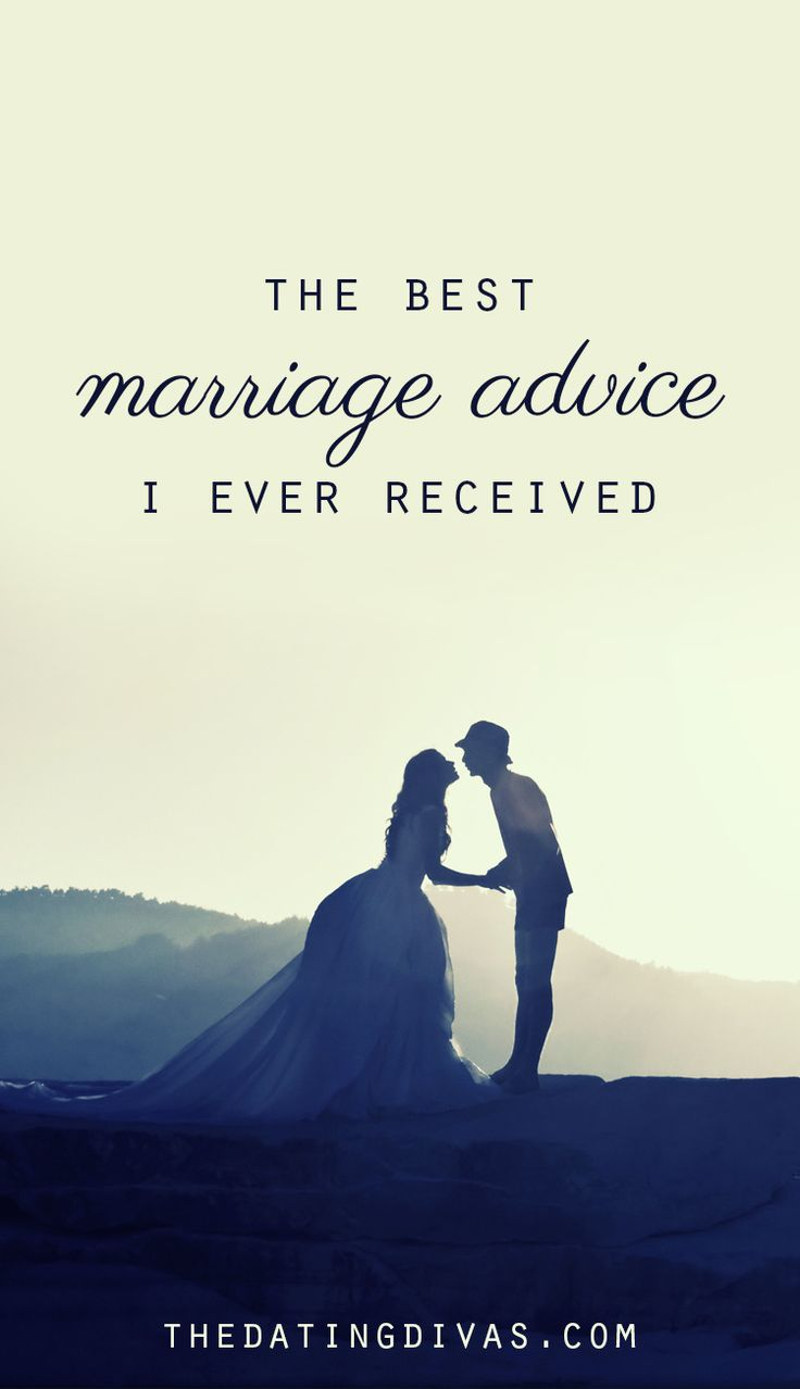 The best marriage advice I have ever heard! It's so simple, but such a good tip to remember. www.TheDatingDivas.com