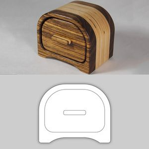 Free Bandsaw Box Patterns - WoodWorking Projects & Plans