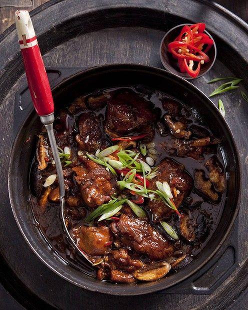 Caroline Velik's Chinese braised chicken. Photo by Marina Oliphant.  Recipe: http://www.smh.com.au/lifestyle/cuisine/poultry/recipe/chinese-braised-chicken-20120627-2119b.html?rand=1340754789754