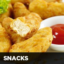 Quorn Nuggets..  Love these, Spray em with Canola and use some herbs...