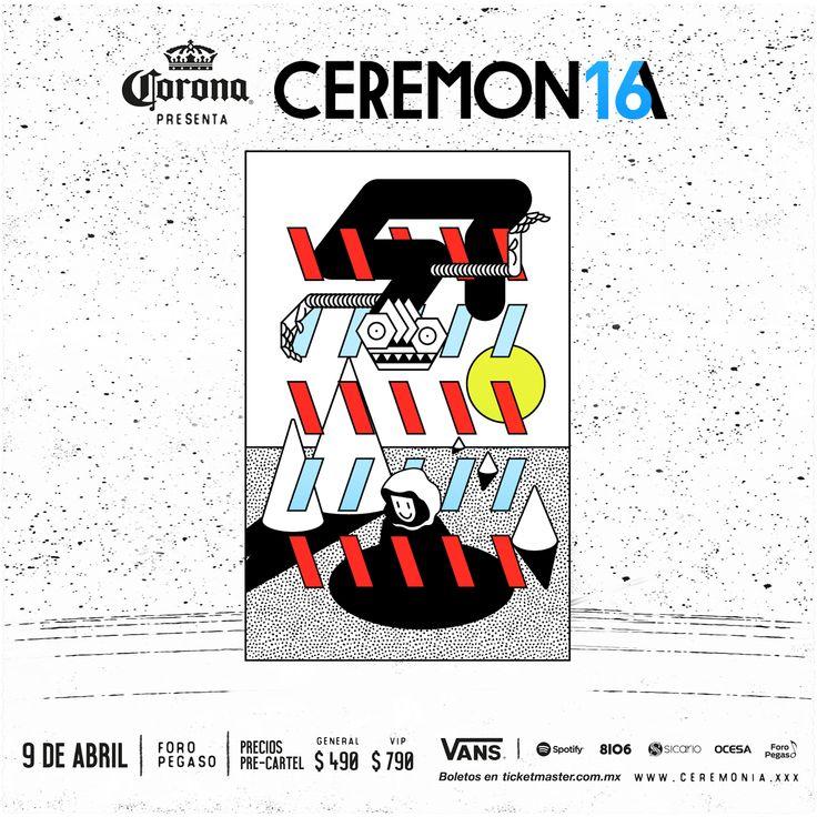 Se celebra la cuarta edición del Festival Ceremonia 2016, no te lo puedes perder entérate sólo en café y cabaret.